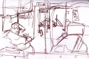 Bus Sketches by RenTeinre