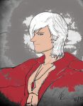Dante's Profile Colored by PhantomRose91