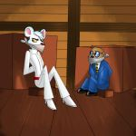 Dangermouse and Penfold: HELP !!! by Cinco-Elementos
