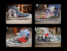 My Anime Shoes by Aeriith