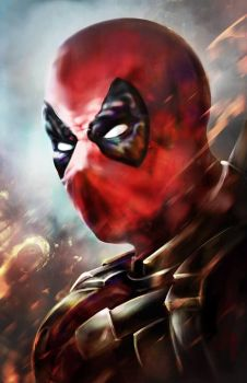 DeadPoolBust by MJHinrichs