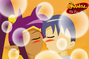 Shantae Fan Movie - Coming for a kiss by alvarobmk123