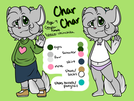Char Char Reference and Notes by FreckledAndSpeckled