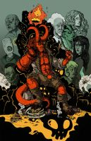 Hellboy tribute by okani
