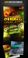 Supra PSD Flyer Template by ImperialFlyers