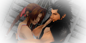 ~Aerith and zack~ by Littleaerith2140