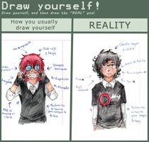 Draw yourself meme by ShadowDark50
