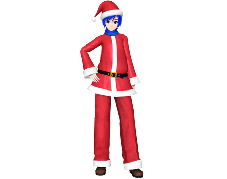Project Diva Arcade Future Tone Christmas Kaito by Luke-Flame
