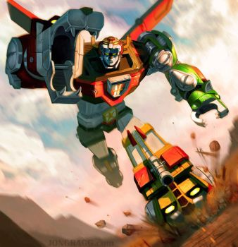 Voltron by JonathanGragg