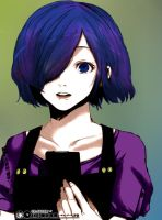 Touka (Painting) by NechBooble