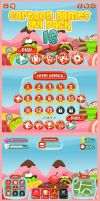 Candyland - Game GUI by pzUH