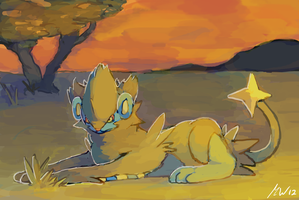 Luxray by Tropiking