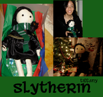 HP: Tiff's Slytherin Rag Doll by OneWingedMuse