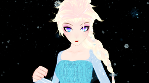 MMD Elsa by Drindrence