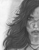 Lara Croft - Survivor by As-If-I-Draw