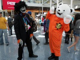 Anime Expo Brook and Bepo by DelphiniumFleur