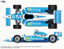 Indy Car Sarah Fisher by atomik99