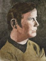 William Shatner Portrait by Jeremiah29