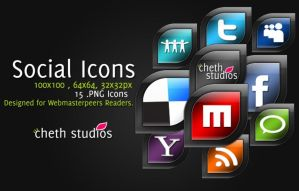 CS Social Icon pack by cheth