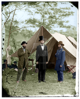 1862 photo Lincoln colorized by fwchan