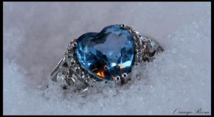 Cold Heart Silver Ring by OrangeRoom