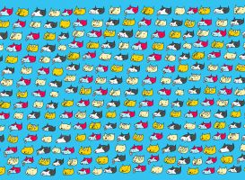 Cat Dog Repeat by ytak87