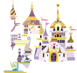 canterlot castle full model (constantly updated) by a01421