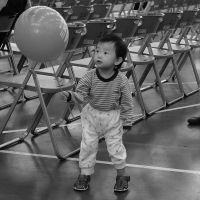 a Boy and his Balloon by bQw