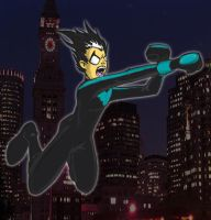 Nightwing's First Night Out by Yusef-Muhammed