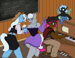 Outlaw Party by Digoraccoon