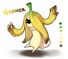 [OCs] Nanner the Petipoire #000 by banANNUmon