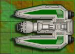 Star Wars Miniatures Tile 02Fighter by JK-Antwon