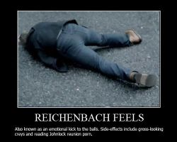 Reichenbach Feels Demotivational by shallowgravy