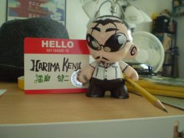 Munny: Harima -front- by ScarecrowArtist