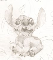 Experiment 626-Stitch by Raulboy