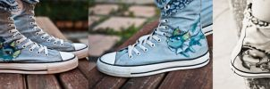 Vaporeon Shoes by Mona-Minette