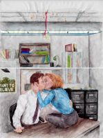 X-Files Mistletoe by EnigmaticDrScully