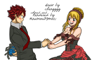 Dance with me - NaLu - Chengggg by HinamoriMomo21