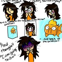 Skittles almost kill Katlyn. by flipflop10150