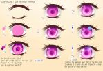 Step By Step - Soft colored eye by Saviroosje