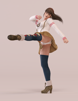 Hitomi 3DS Render 14 by x2gon
