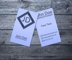 Simple Business Card II by Freshbusinesscards