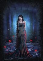 The Night Lady - Sythyra by VioletDolphin
