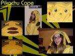 Pikachu Cape by fairy-of-illusions