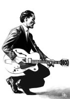Daily Sketches Chuck Berry by fedde