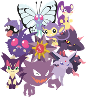 Purple Pokemon Unite!