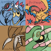 Fossil Pokemon by Miss-Callie-Rose