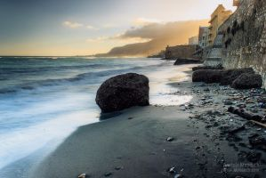 Sunrise at Trapani II by klapouch