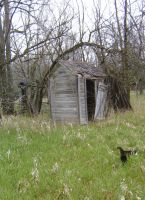 Outhouse 1 by DarkMaiden-Stock