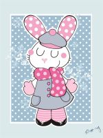 Winter's Bunny by Frog-FrogBR